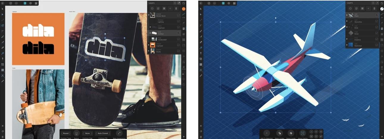 Affinity Designer アプリ