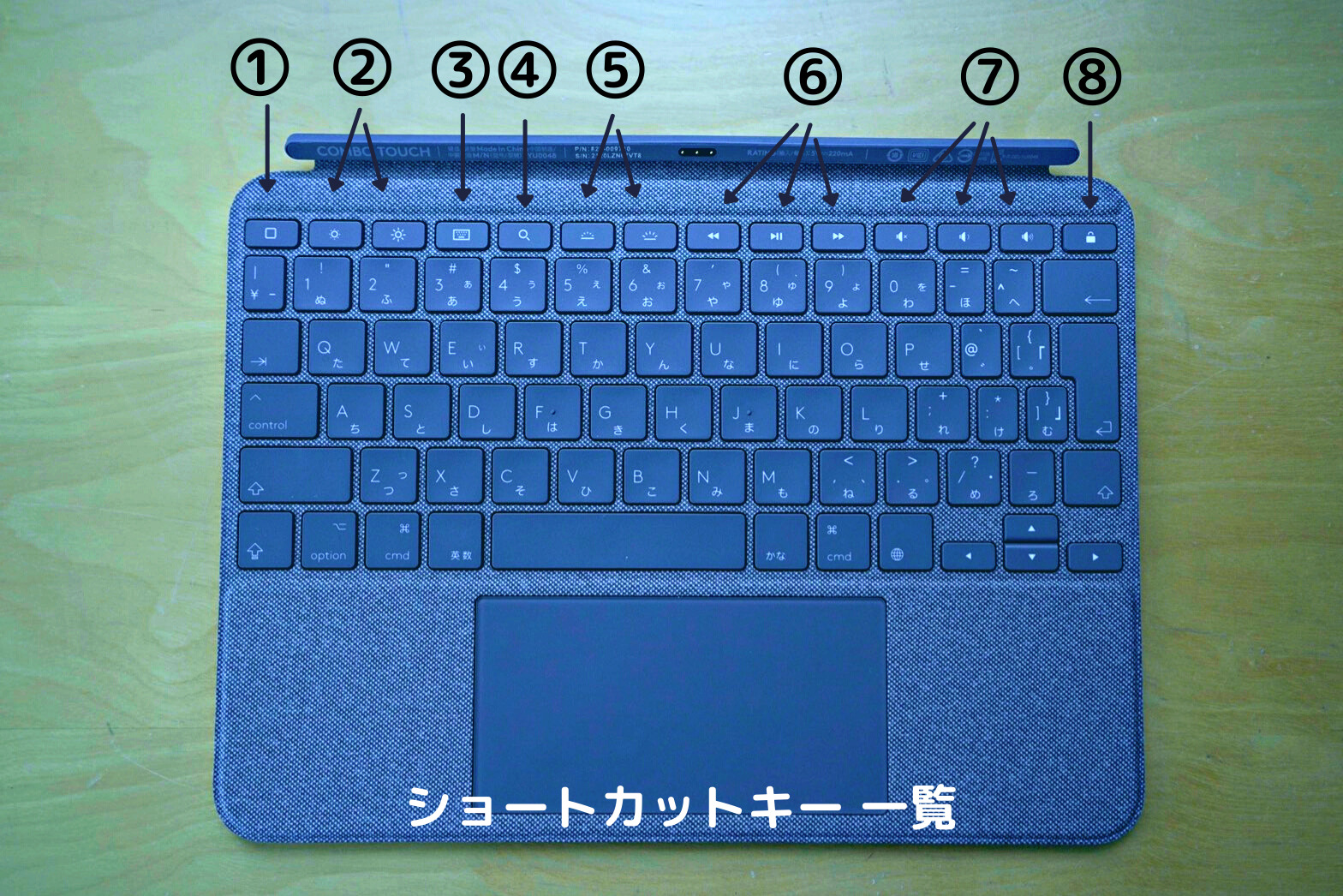 Logicool Combo Touch 11